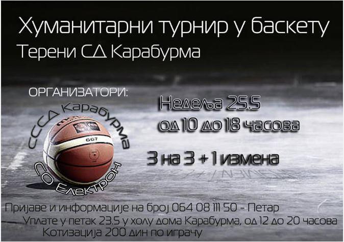 Хуманитарни турнир у баскету